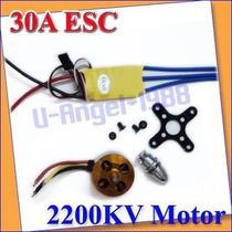Combo Motor A2212/6t + Esc 30a Brushless