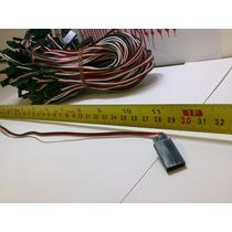 Extensão P/servos Medidas De 15cm,30cm E 50cm Simples Ou Y