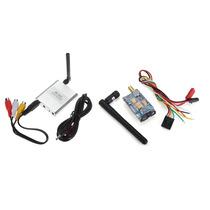 Kit Fpv Boscam Tx Rc351 E Rx Rc305 5.8ghz 200mw 8 Ch