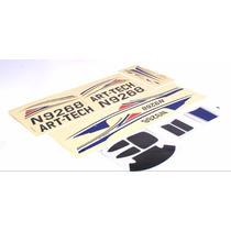 Art-tech Sticker Set Adesivos Original Cessna 182 Brushless