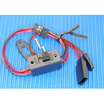 Chave Receiver Switch (3 Plug) Suits Jr/futaba