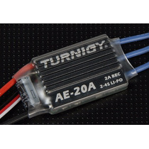 Speed Control Esc Turnigy Ae 20a Com Bec De 2a - Lipo 2~4s
