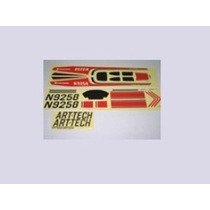Art-tech Sticker Set Adesivos Original Cessna 182 54054