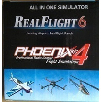 Simulador Real Flight G6/ Phoenix 4 !!! 16 In 1