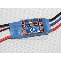 Speed Control Esc Hobbyking 30a Bec 3a Brushless (15205)