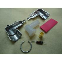 Kit Cachimbo P Ignição C/ Plug Cm6 P/ Motor Dle Rcg Gasolina
