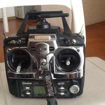 Radio Futaba 7c 2.4ghz Fasst Com Bateria E Carregador