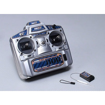 Rádio Hobbyking Hk6s 2.4ghz Fhss 6ch Tx & Rx (modo 2)