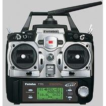 Rádio Futaba 7c 2.4ghz 7-canais Modo Heli S3152 Futk7001