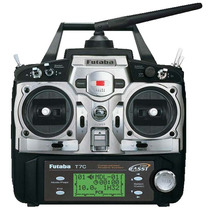Radio Futaba 7c 7-channel 2.4ghz Fasst Air Futk7004