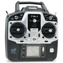 Rádio Futaba 6j 2.4ghz 6-canais Modo Aero Servos S3004 F6001