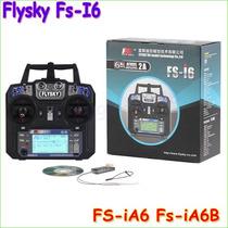 Rádio 2.4ghz Flysky Fs I6 + Receptor Fs Ia6
