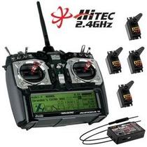 Rádio Hitec Aurora 9 2.4ghz 9-canais Optima Hs-5485hb 191240