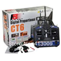 Flysky Fs 2.4g 6ch Radio Controletransmitter +receiver Ct6b