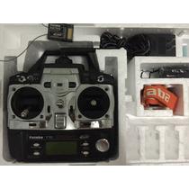 Rádio Controle Futaba 7c 2.4ghz Para Avião + Receptor R617fs