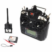Radio Flysky 2.4ghz 8-canais & Receptor Fs-th9x