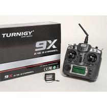 Rádio Controle Turnigy 9x 9ch C/ Receptor 8ch (v2)