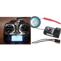 Rádio Aeromodelo 4 Canais 2,4ghz Wl-toys Hobbyking Turnigy