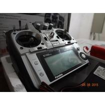 Futaba T10cap Pcm Com Módulo E Rx Frsky Com Telemetria