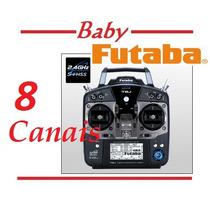 Rádio Futaba 8j Avião Heli Drone + Receptor R2008sb - Show!!