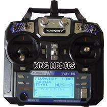Novo Radio Turnigy 6 Canais Digital-tgy-i6-2.4ghz-telemetria