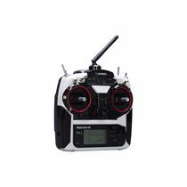 Radio Airtronics Aquila-6 2.4ghz Sanwa + Receptor Aero Heli