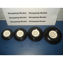 Roda Borracha 2 1/2, 2.50 Ou 64mm Shopping Model (unidade)