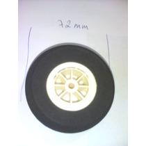 Roda Borracha De Eva Duro Cubo De Nylon De 72mm Da Shopmode