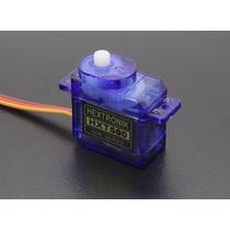 Servo Hextronik Hxt-500 Micro 6.2g / .08sec (pct C/ 2 Un.)