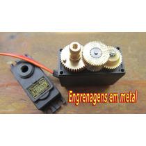 Servo Motor 360º - 13kg - Mg995 + Engrenagens Grátis