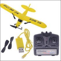 Mini Aeromodelo J3 Piper Controle Remoto. Frete Grátis!!!