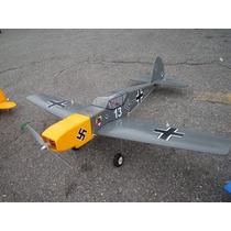 Kit Aeromodelo Elétrico Bf 109 Messerschmitt 1m - Depron 5mm