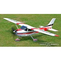 Aeromodelo Cessna 500 Eletrico Com 141 Cm Asa.