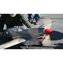 Planta Do Curtiss P-40 Warhawk Gigante Giant