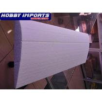 Asa Isopor P3 Treinador Elétrico 15cm X 1m C/ Fibra Ailerons