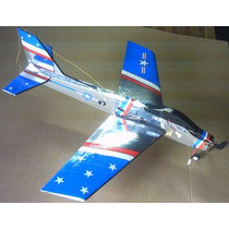Aeromodelo F- 86 Sabre Para Motor Elétrico Futaba Servo Os