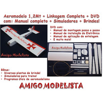 Kit Aeromodelo 1,2mt Ugly Stick Depron + Linkagem + Brindes!