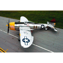 Planta Do Republic P-47 Thunderbolt Gigante Giant