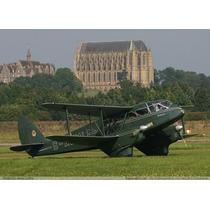 Planta Do De Havilland Dh-89a Dragon Rapide Gigante Giant