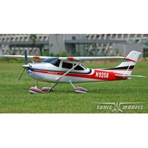 Aeromodelo A-rtf Cessna 500 Brushless Tripar