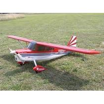 Aeromodelo Super Decathlon 40 1/6 Escala Enverg 1.60cm