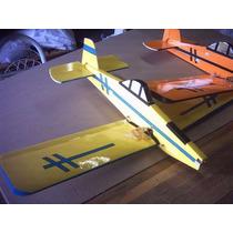 Aeromodelo Ipanema Para Motor Elétrico Servo Futaba Os Aero