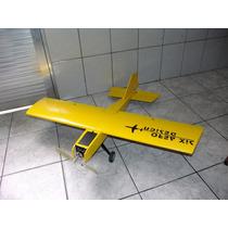 Aeromodelo Six Ultra Stick Elétrico 1m Cortado Em Cnc