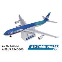 Papel Modelismo 3d - Airbus A340-300 Em 3 Dimensões