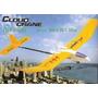 Aeromodelo Planador 2 Canais Flying Fox Controle Remoto Inic