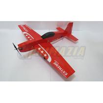 Kit Aeromodelo Extra 330 3d + Brinde Adesivos P3 Depron Cnc