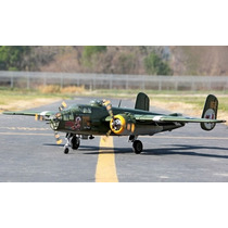 Avião Bi Motor Lx Super B-25 Mitchell Rtf Grande Escala