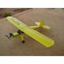 Aeromodelo Pastinha Cub J3 Flymagão Asa Bi-partida