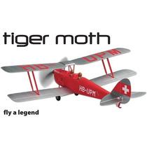 Avião Flyzone Micro Dh 82 Tiger Moth Biplane Rtf Flza2060