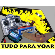 Asa Zagi 120 P3 - Completa +radio +bateria +carredor +bolsa